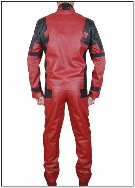 Deadpool Jacket And Pants