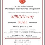 Delta Sigma Theta Application