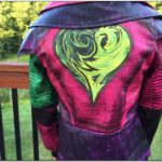 Descendants Mal Jacket Back