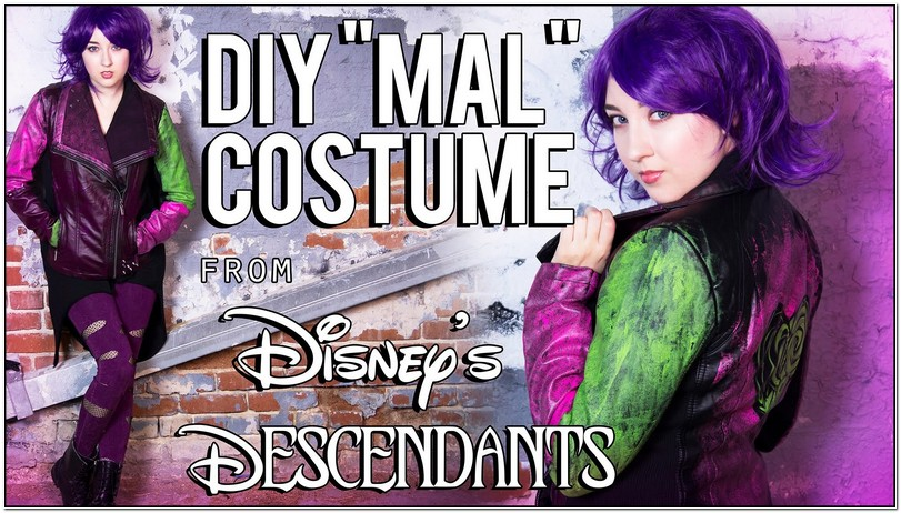 Descendants Mal Jacket Pattern