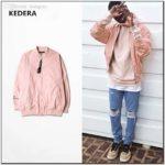 Dusty Pink Bomber Jacket Mens