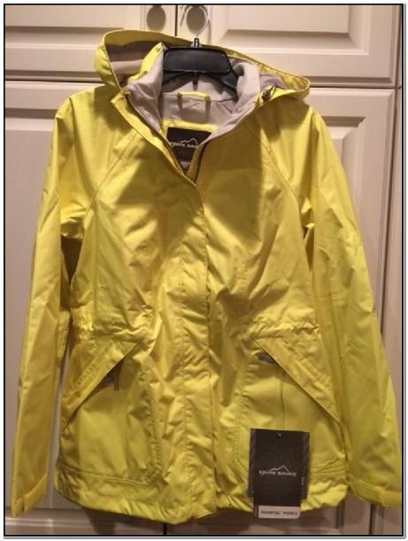 Eddie Bauer Petite Rain Jacket