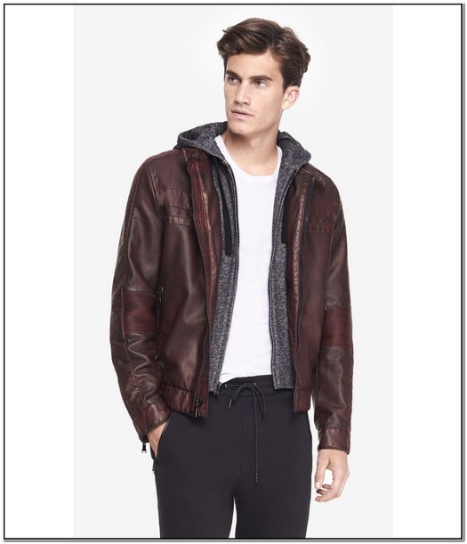 Express Minus The Leather Jacket Mens
