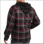 Faded Glory Flannel Jacket With Hood
