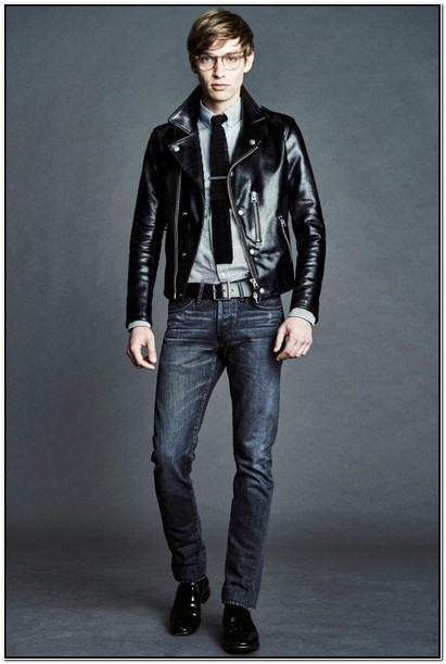 Fall 2017 Mens Leather Jackets