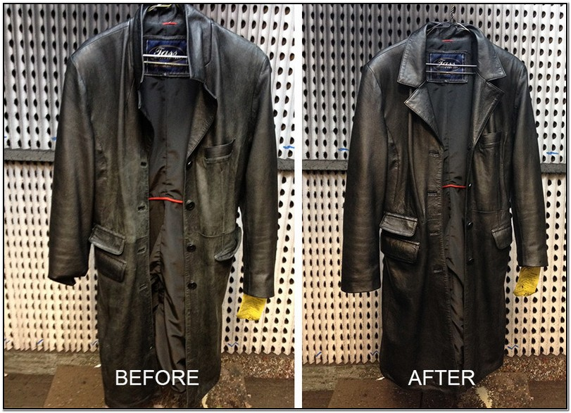 Faux Leather Jacket Repair Near Me