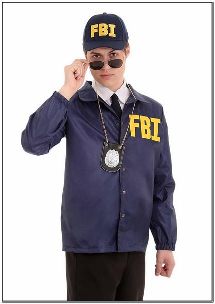 Fbi Costume Jacket Amazon