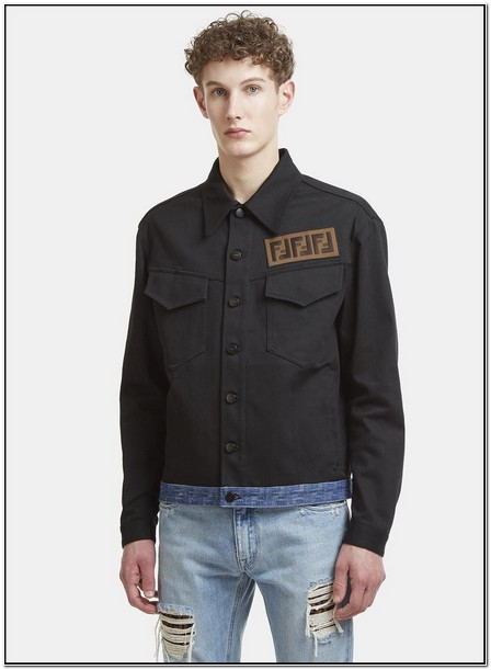 Fendi Denim Jacket Mens