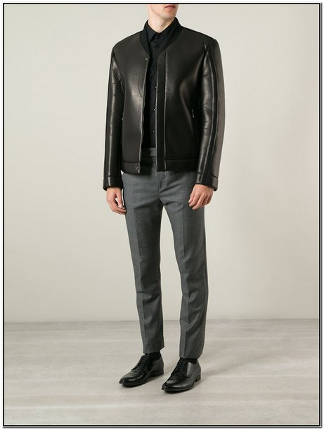 Fendi Mens Leather Jacket