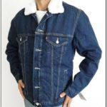 Fur Lined Blue Jean Jacket