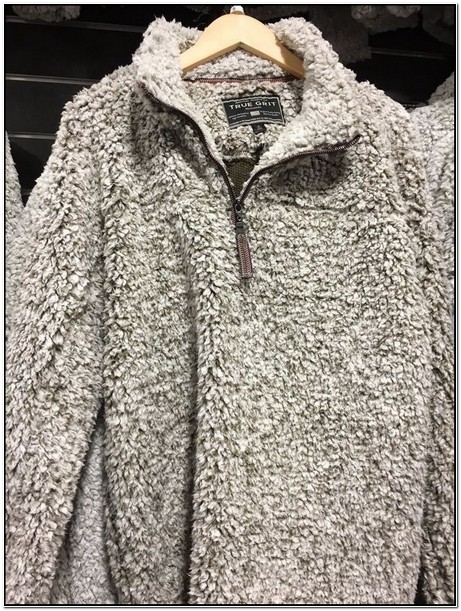 Fuzzy Jacket Pullover
