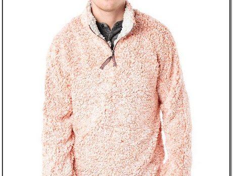 Fuzzy Pullover Jacket True Grit