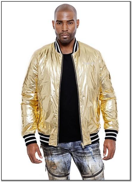 Gold Robin Jeans Jacket