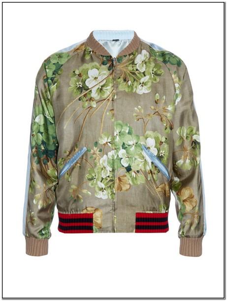 Gucci Floral Bomber Jacket Mens