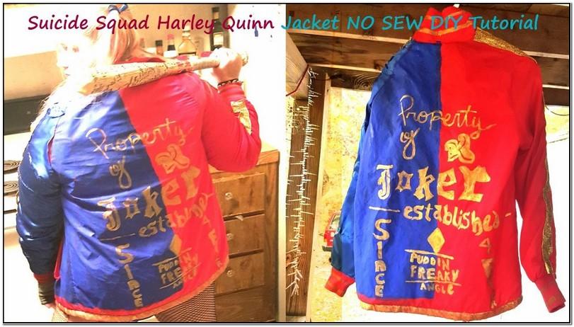 Harley Quinn Bomber Jacket Tutorial