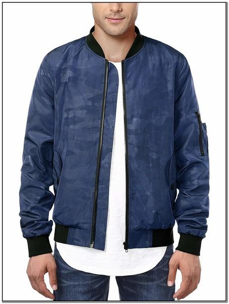 Hemoon Mens Casual Sportswear Lightweight Baseball Bomber Jacket