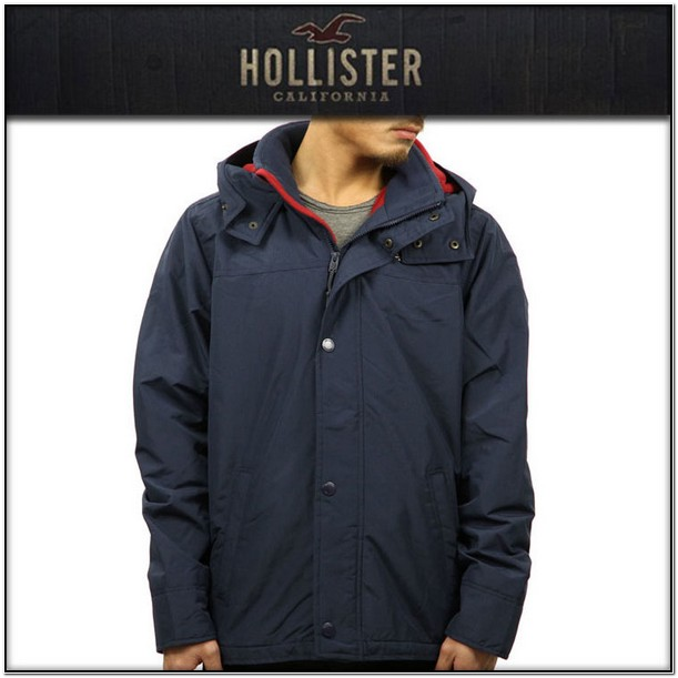 Hollister California All Weather Jacket Mens