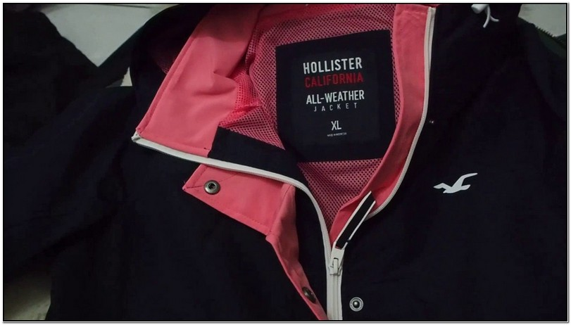 Hollister California All Weather Jacket Womens