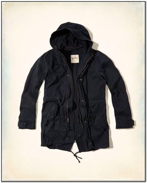 Hollister Mens Jacket Outerwear Tarmac