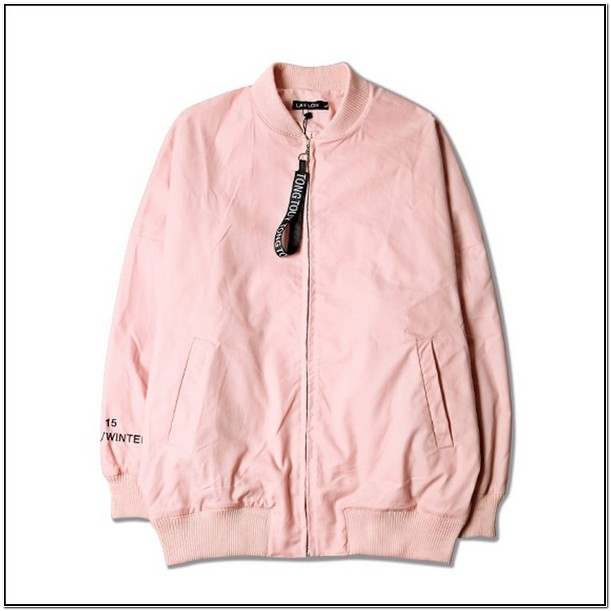 Hot Pink Bomber Jacket Mens