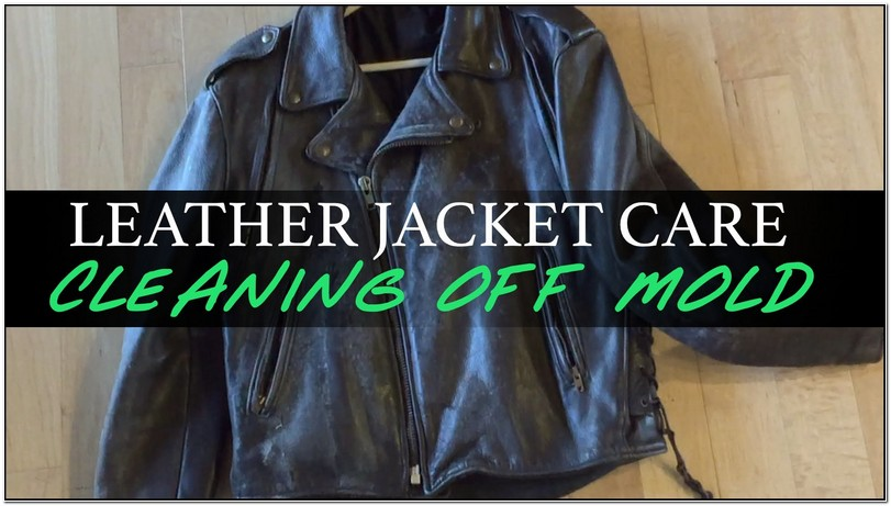 How To Clean Leather Jacket Mould