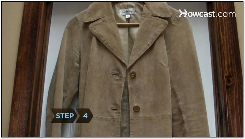 How To Clean Suede Jacket Stain