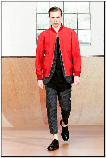How To Wear A Red Bomber Jacket Mens