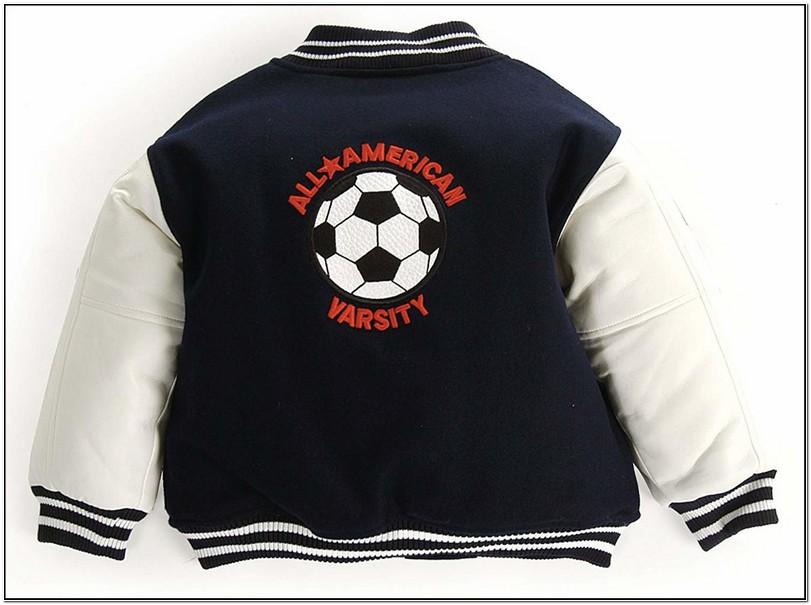Infant Boy Letterman Jacket