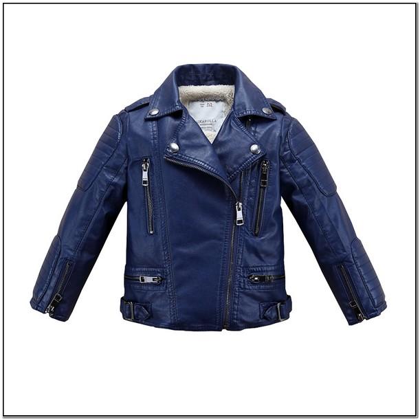 Infant Faux Leather Jacket