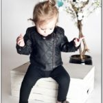Infant Leather Jacket Girl