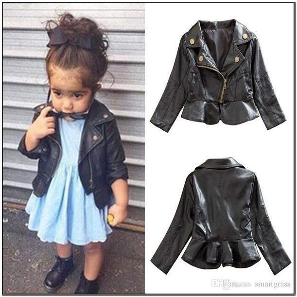Infant Leather Jackets Coats