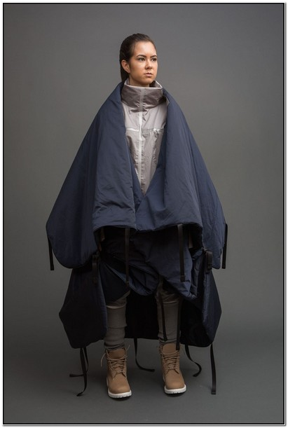 Jacket That Turns Into A Tent Angela Luna
