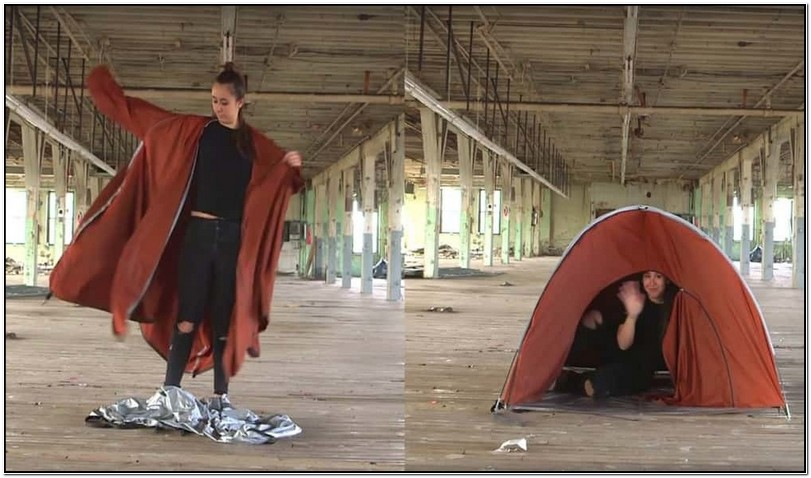 Jacket That Turns Into A Tent Buy