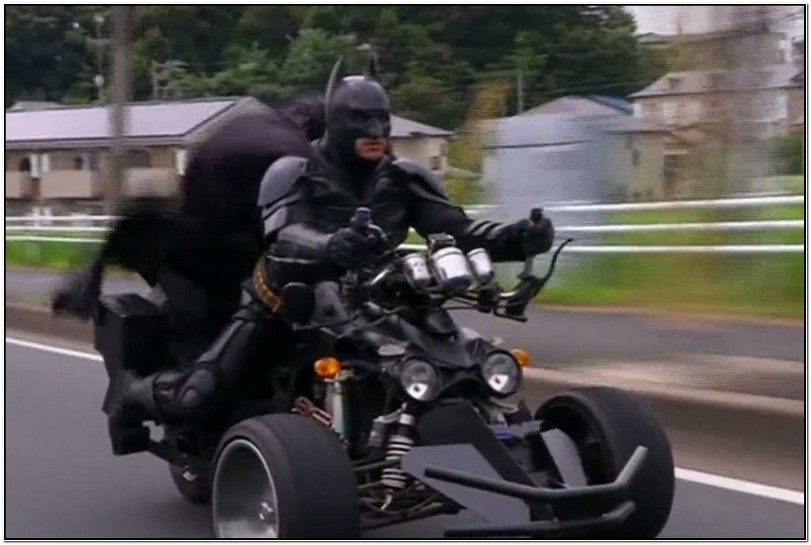 Japan Batman Motorcycle