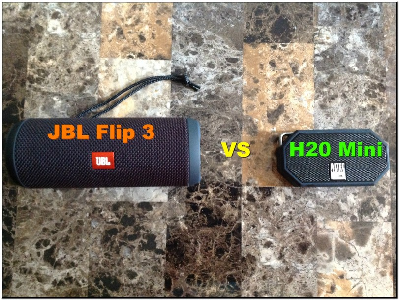 Jbl Flip 3 Vs Altec Lansing Mini Life Jacket 3