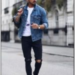 Jean Jacket Male Fashion