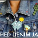 Jean Jacket With Pins And Patches