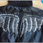 Jean Jacket With Safety Pins