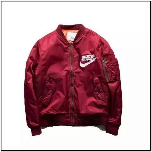 Kanji Bomber Jacket Red