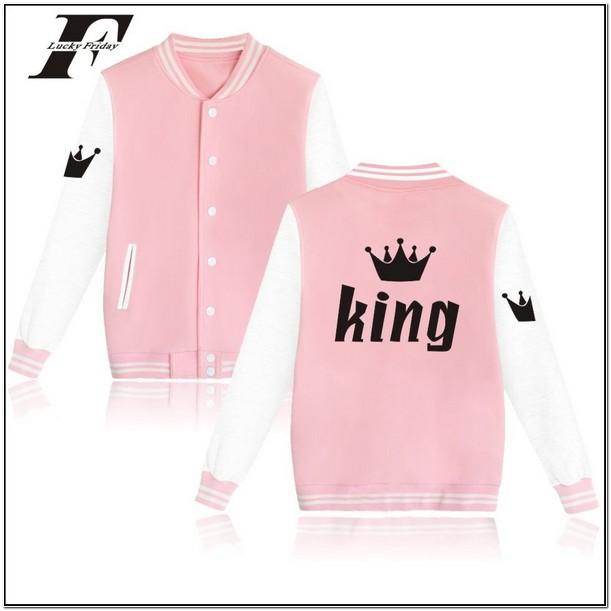 King And Queen Bomber Jackets