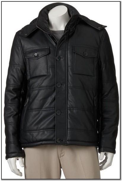 Kohls Big And Tall Leather Jackets