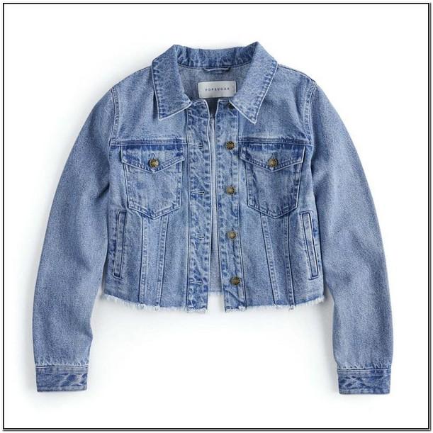 Kohls Red Jean Jacket