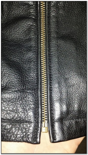 Leather Jacket Zipper Replacement