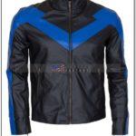 Leather Nightwing Jacket