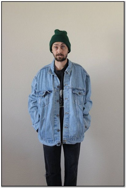 Levis Oversized Denim Jacket Mens