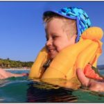 Life Jackets For Toddlers At The Beach