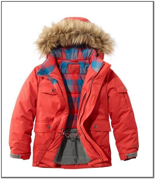 Ll Bean Childrens Winter Jackets