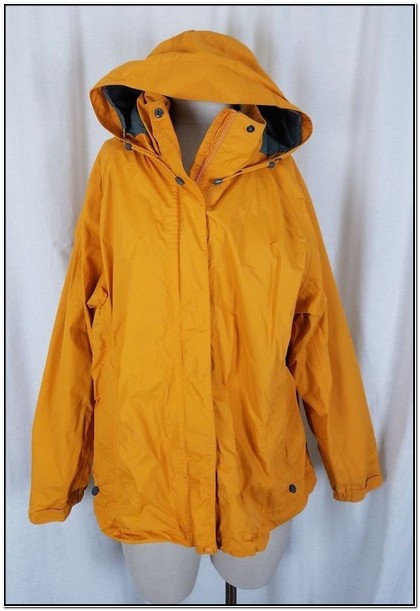 Ll Bean Womens Stowaway Rain Jacket