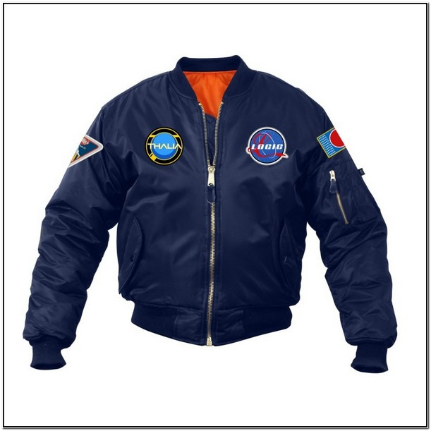 Logic Bomber Jacket Patches