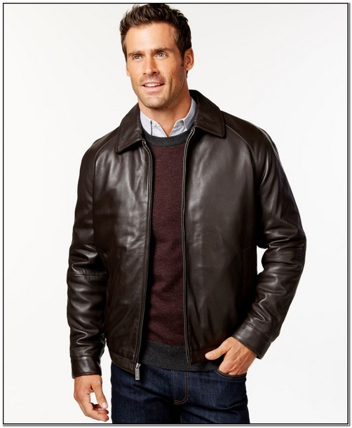 Macys Mens Big And Tall Leather Jackets